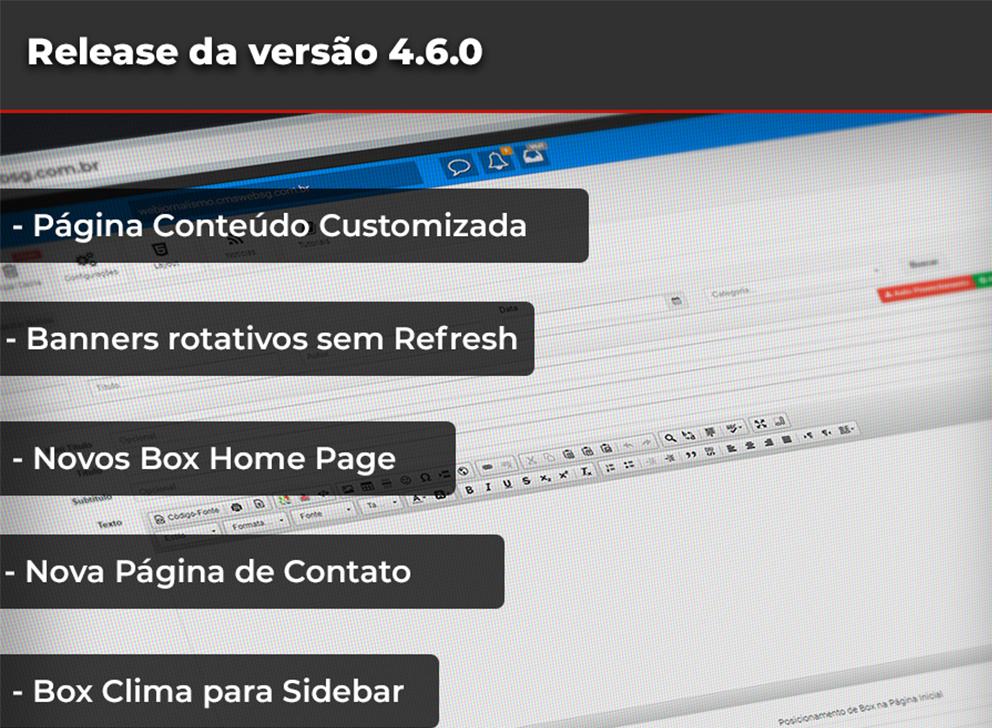 Release da Versão 4.6.0