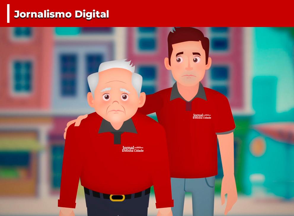 Campanha Jornalismo Digital - #sejadigital