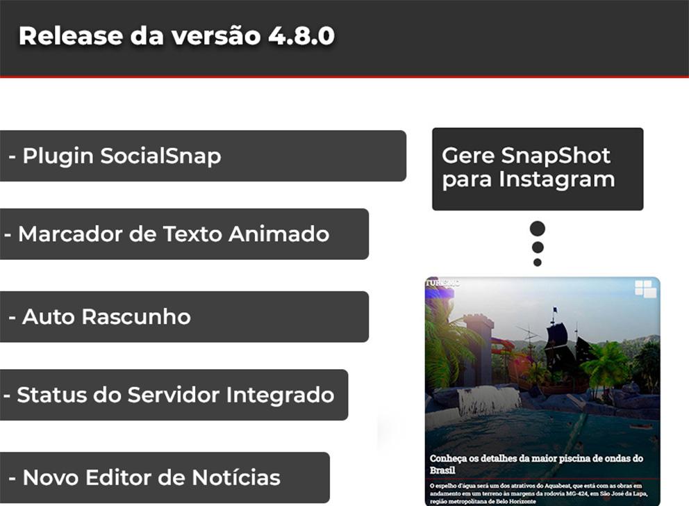 Release da versão 4.8.0 Web Jornalismo