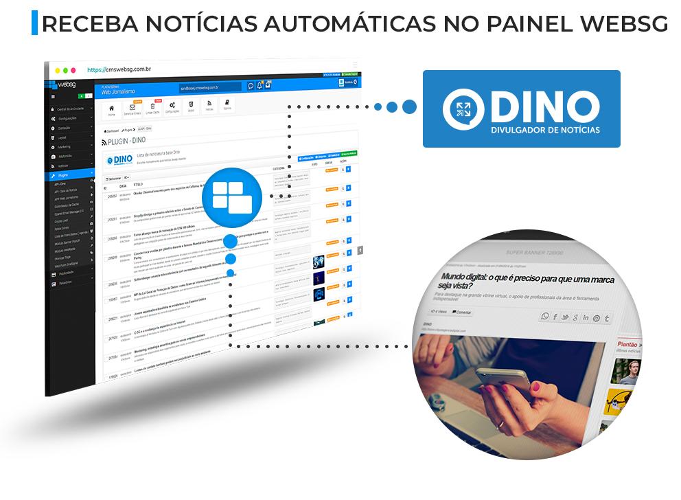 Notícias postadas automaticamente via Plugin Dino